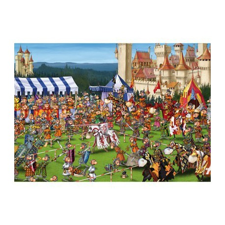 Puzzle 1000 pièces - Tournoi de Ruyer