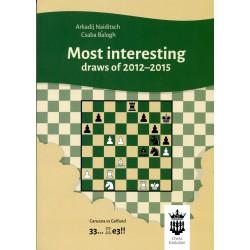 Naiditsch & Balogh - Most interesting draws of 2012 - 2015