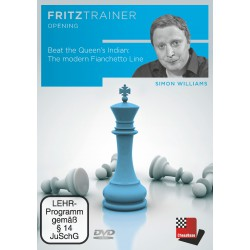 DVD Williams - Beat the Queen's Indian: The modern Fianchetto Line