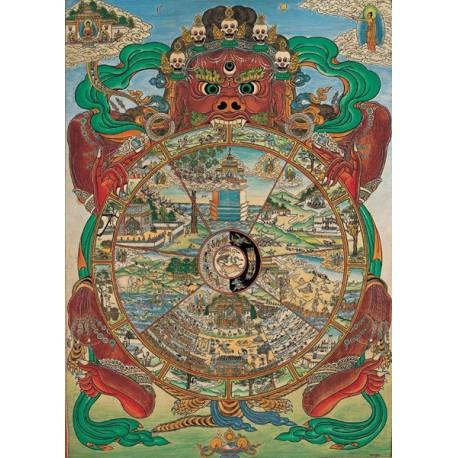 Puzzle 1000 pièces - Wheel of life Tibetan