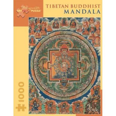 Puzzle 1000 pièces - Mandala Tibetan Buddhist