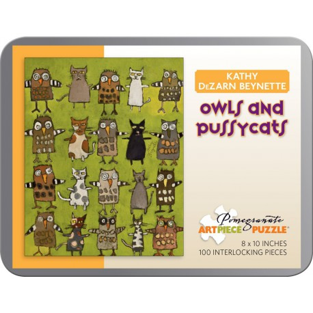 Puzzle 100 ps - Owls and Pussycats de Beynette