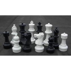 Pièces d'échecs de jardin
