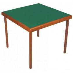 Table de Bridge en bois