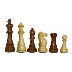 Pièces d'Echecs Sheesham - Taille 6 (King size)