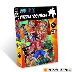 Puzzle 100 pièces - One piece World World