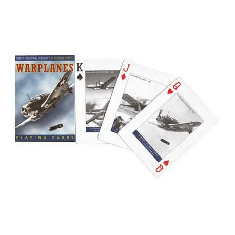 Cartes à jouer Warplanes