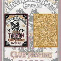 Cartes à jouer Global Titans Gold - Expert