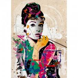 Puzzle 1000 pièces - Audrey People by Jhonny Cheuk