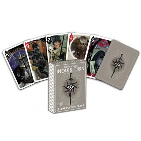 Cartes à jouer Dragon Age Inquisition series two