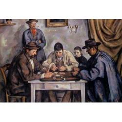 Puzzle 1000 pièces - Les joueurs de cartes de Cezanne