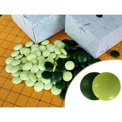 Pierres de go vert jade 8mm