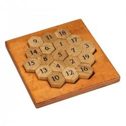 Casse-tête en bois Aristote Numbers Puzzle