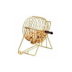 Bingo sphère avec 75 boules en bois
