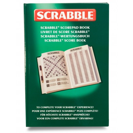 Livret de score Scrabble