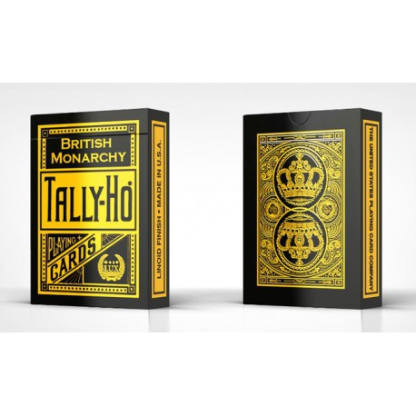 Cartes à jouer Tally-Ho British Monarchy