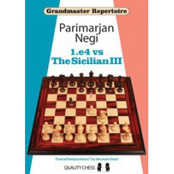 Negi - GM 1.e4 vs Sicilian III (Hard cover)