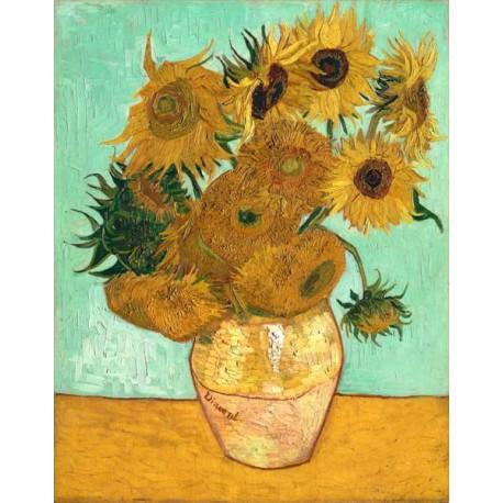 Puzzle 1000 pièces - Les tournesols de Van Gogh