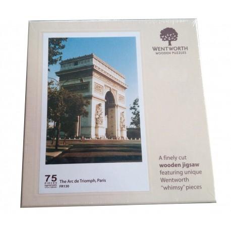 Puzzle 75 pièces Arc de Triomphe (bois)