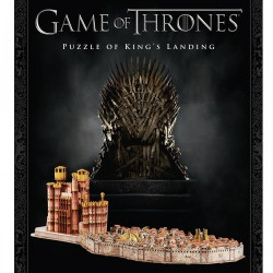 Puzzle 3D 260 pièces - Game of Thrones: King's Landing