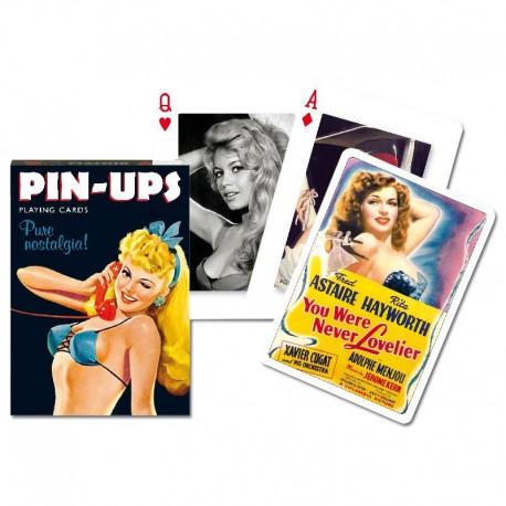 Cartes à jouer Pin-Up