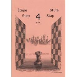 BRUNIA & VAN WIJGERDEN - Jouons aux échecs - Méthode par étapes: Etape 4 Mix