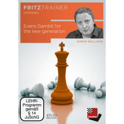 DVD Williams - Evans Gambit for the new generation