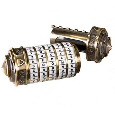 Casse-tête Mini Cryptex - The Da Vinci Code