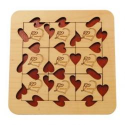 Casse-tête en bois L'Amour