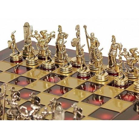 Coffret d'échecs Deluxe Dieux Grecs
