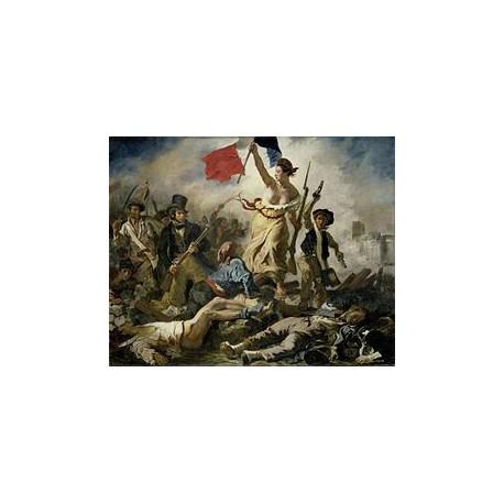 Puzzle 350 pièces - La Liberté Guidant le Peuple, Delacroix
