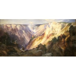 Puzzle 1000 - The Grand Canyon of the Yellowstone - Moran