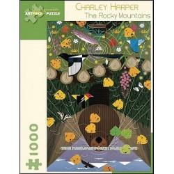 Puzzle 1000 pièces - The Rocky Mountains de Charley Harper