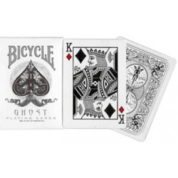 Cartes Bicycle Ghost white