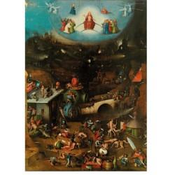 Puzzle 1000 pièces - Triptyque du Jugement dernier de Bosch