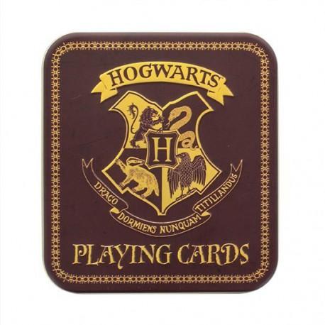 Cartes à jouer Harry Potter Poudlard