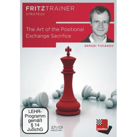 DVD Tiviakov - The Art of the Positional Exchange Sacrifice