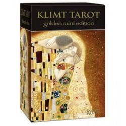 Mini tarot divinatoire Klimt édition doré