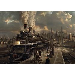 Puzzle 1000 pièces - Locomotive