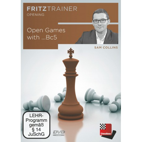 DVD Collins - Open Games with ...Bc5