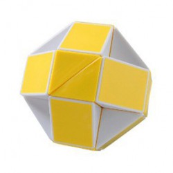 Cube Snake Magic Transformable Jaune