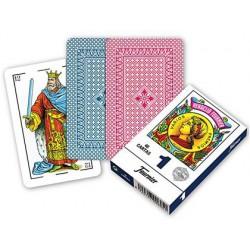 Cartes à jouer Espagnoles 40 c. dos bleu