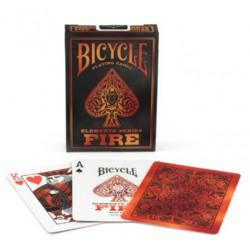 Cartes à jouer Bicycle Fire