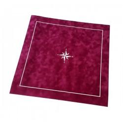 Tapis de cartes Bordeaux 60 cm