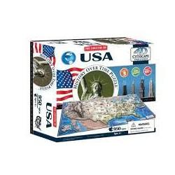 4D Cityscape Time puzzle USA