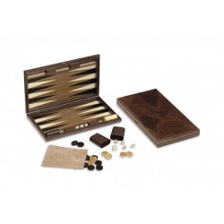 Backgammon Oxford Noyer