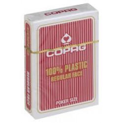 Cartes à jouer Copag poker regular rouge