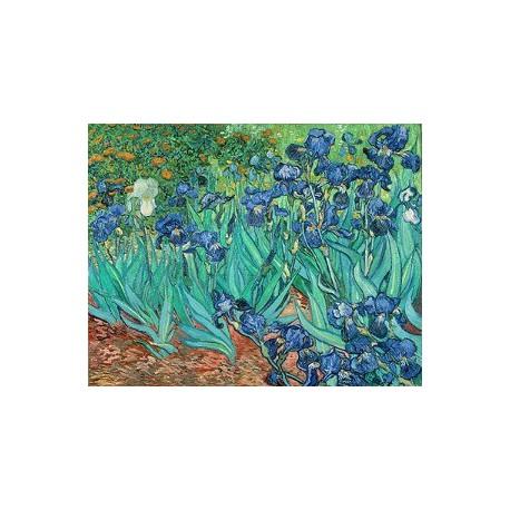 Puzzle 1000 pièces - Les Iris de Van Gogh