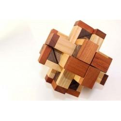 Casse-tête en bois Hex Cross