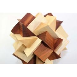 Casse-tête Zigzag en bois